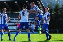 FK Okula Nýrsko (modří) vs. Černice (černí) 4:0.