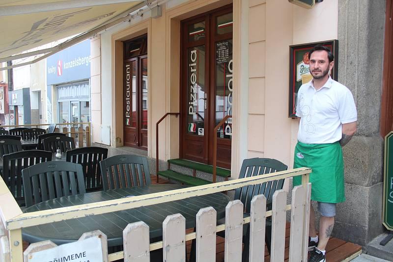 Restaurace v Plzeňském kraji.