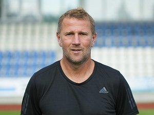 Trenér Domažlic Pavel Vaigl.