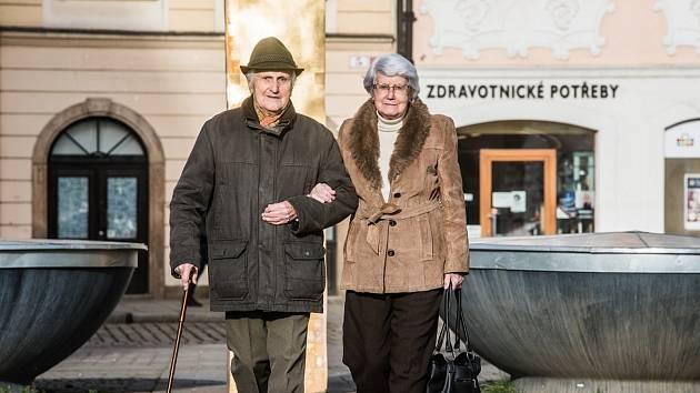 Markéta a Evžen Šteifovi.