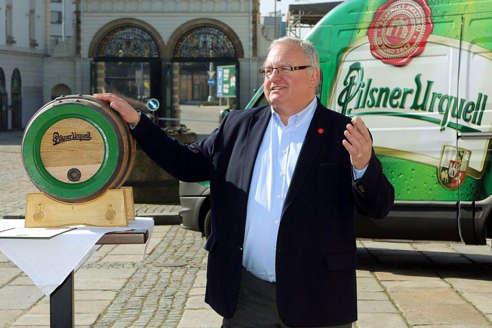 Obchodní sládek pivovaru Václav Berka