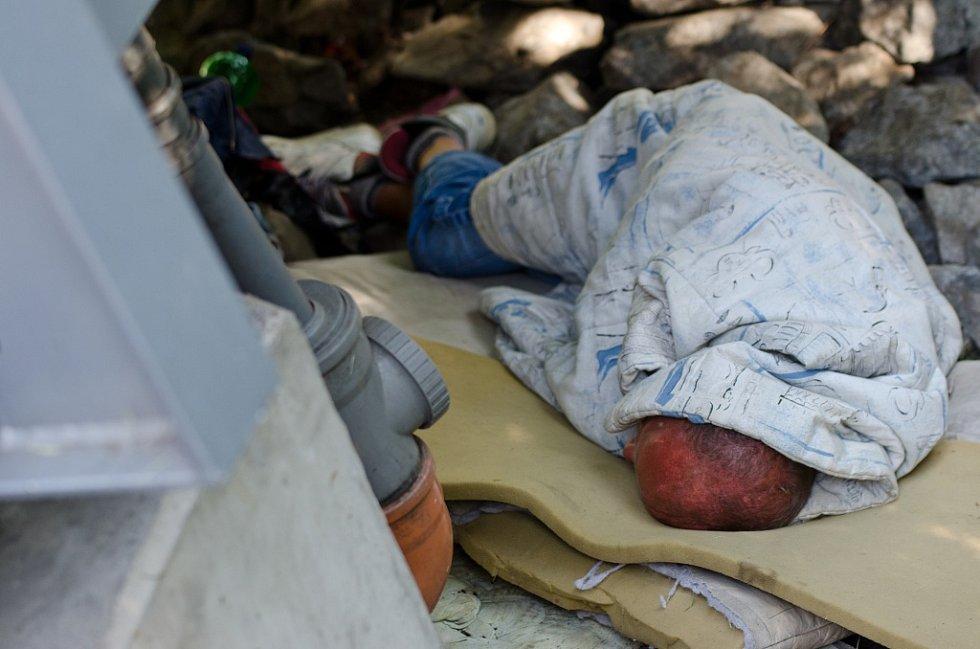 V Plzni začal hon na bezdomovce
