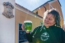 Velikonoční piva v plzeňském pivovaru Purkmistr.