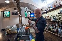 Plzeň, Forest bar před uzavřením.