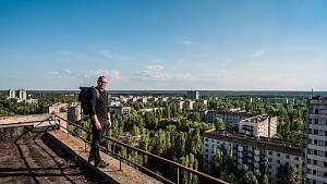 Fotograf Milan Říský v Černobylu