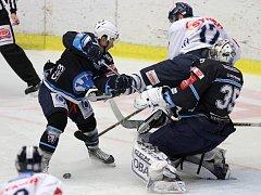 Hokejová Škodovka porazila vedoucí Liberec 5:2 po střeleckém koncertu ve druhé třetině.