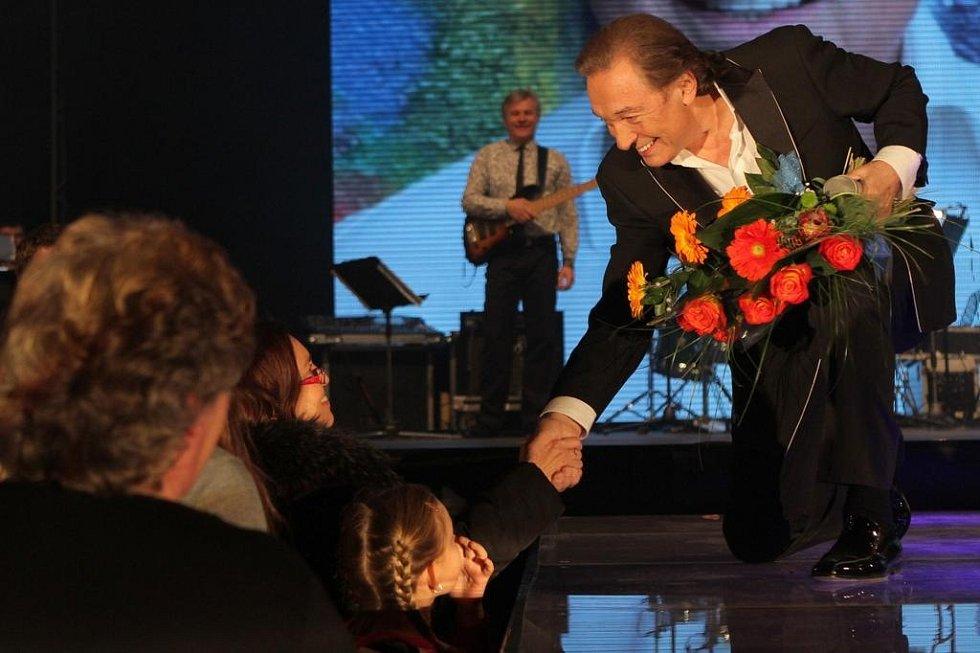 Koncert Karla Gotta v Plzni