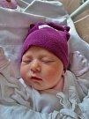 Tereza Novotná se narodila 22. listopadu v 8:43 mamince Bohumile a tatínkovi Petrovi z Holýšova. Po příchodu na svět v plzeňské fakultní nemocnici vážila jejich prvorozená dcerka 3270 gramů