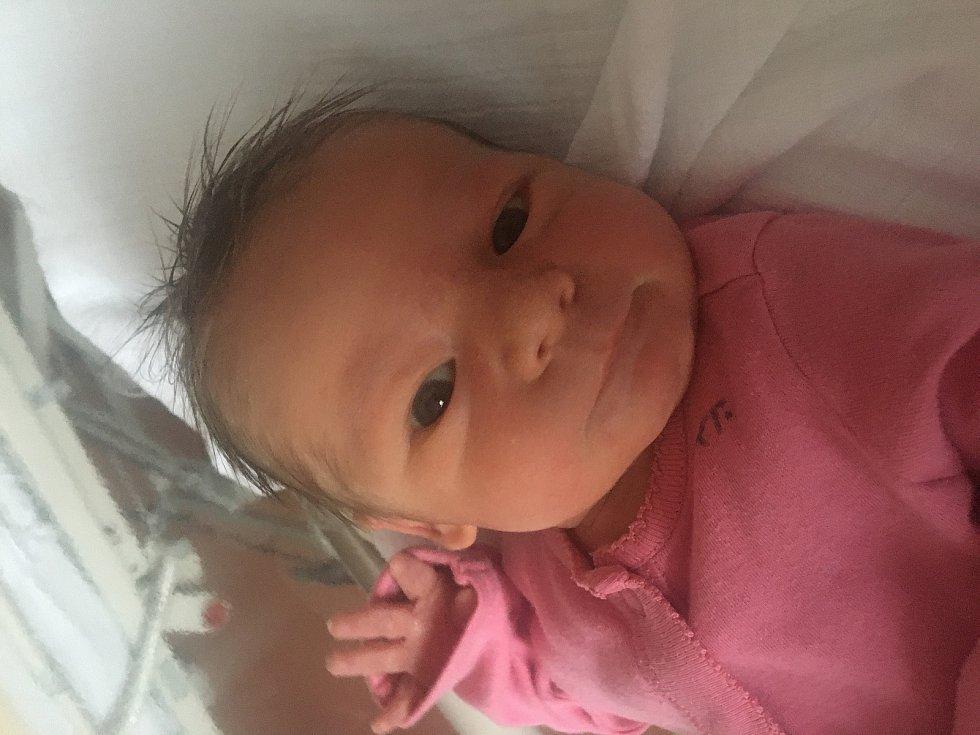 Eliška Uhlová zDolan se narodila vklatovské porodnici 23. listopadu ve 2:46 hodin (2970 g, 49 cm). Rodiče Pavlína a Karel znali pohlaví miminka dopředu. Tatínek byl u porodu velkou oporou.
