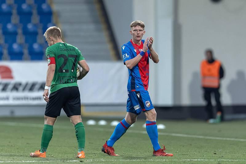 Při střídání v závěru pohárového zápasu s Příbramí (2:1) si Pavel Šulc užil potlesk fanoušků.