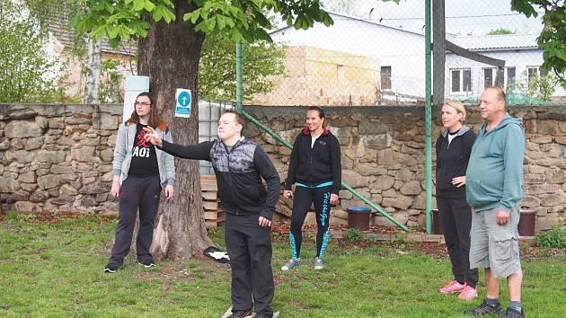 Turnaj v nohejbalu a petanque v Úhercích
