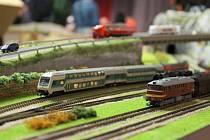 Výstava železničních modelů a kolejišť v Nýřanech