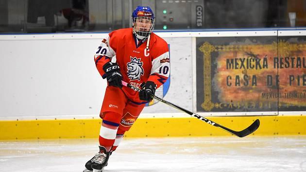 ZÁPAD ČECH patří k tradiční líhni hokejových talentů. Jedním je i plzeňský forvard Dominik Soukup (na snímku), který ve svých patnácti letech několikrát okusil, jaké to je mít na sobě reprezentační dres.