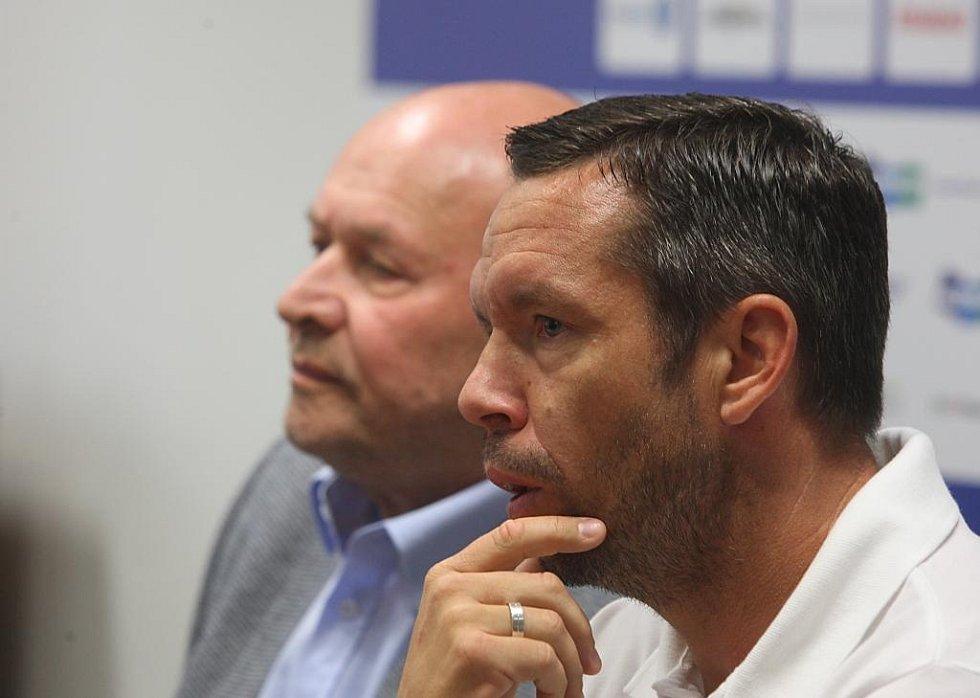 Pavel Horváth (v popředí) a Miroslav Koubek