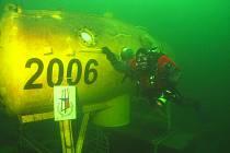 Jaroslav Hudec se potápěčem stal až ve svých 50 letech.