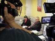 Prezident Miloš Zeman s manželkou Ivanou v dětském domově v Plané