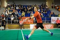 Badmintonista Jan Louda po parádních výkonech vyhrál mezinárodní turnaj LI-NING Czech open.