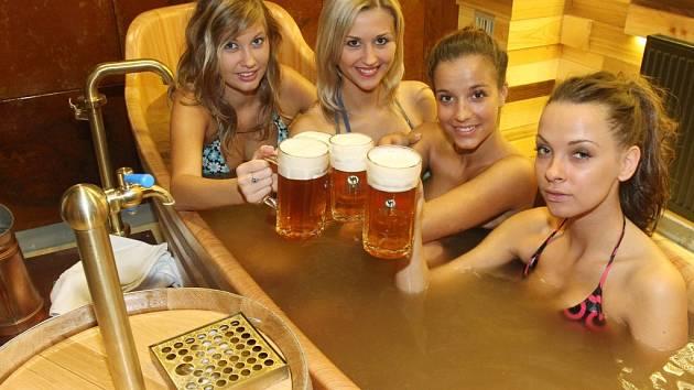 Do piva se naloží a mohou ho i popíjet. Ve Znojmě vzniknou nové lázně