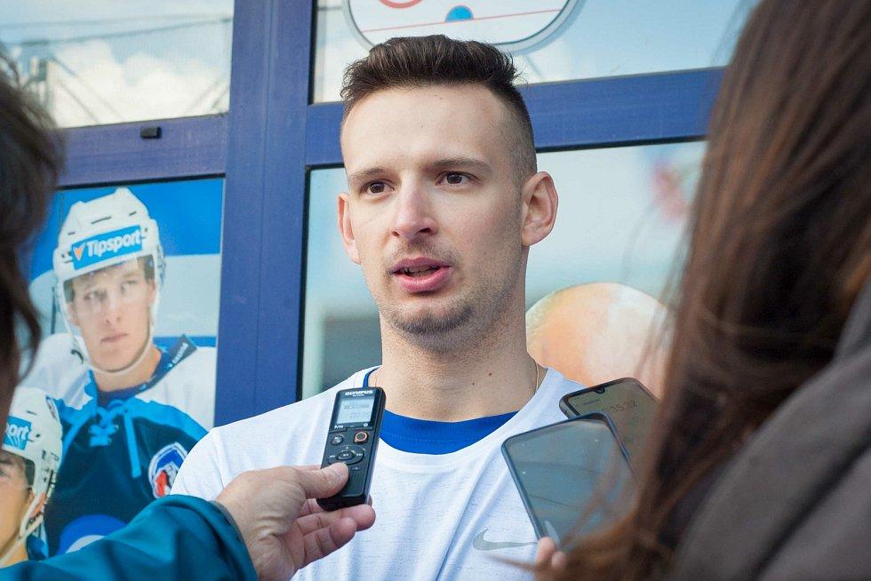 Příprava hokejistů HC Škoda Plzeň.