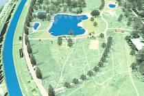 V Lobzích chce doubravecký obvod vybudovat čtyři neprůtočné tůně, mají sloužit k rekreaci i jako protipovodňové opatření