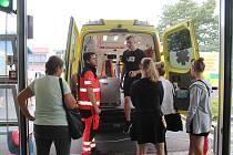 Den otevřených dveří na Zdravotnické záchranné stanici sed konal o uplynulém víkendu.
