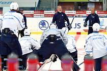 Hokejová Škodovka si přípravu na extraligu zpestří úvodním herním testem doma proti týmu z Českých Budějovic.