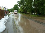 Povodeň v Plzni-Koterově