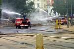 30. srpna 2002, odstřel domu v Plzni U Zvonu