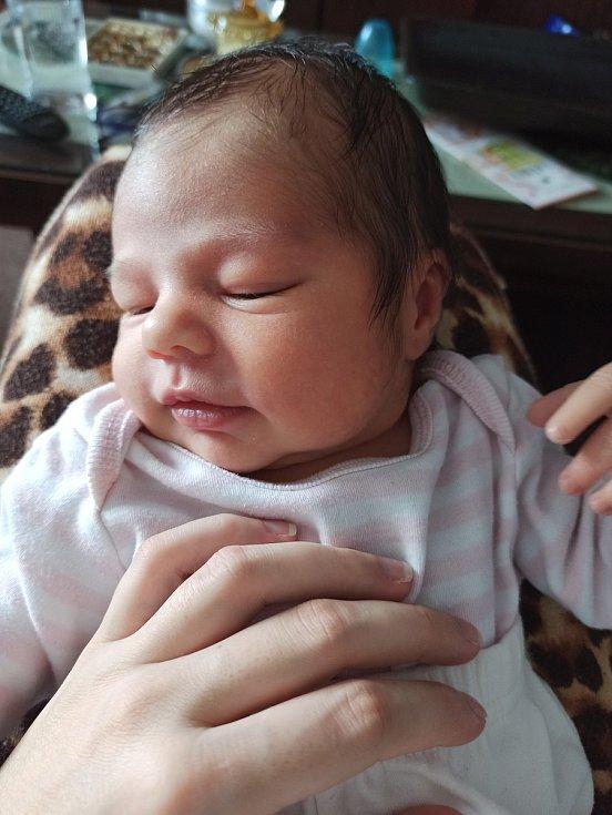Melanie Maxová ze Strážova se narodila vklatovské porodnici 10. listopadu (3085 g, 49 cm). Maminka Martina a tatínek Petr se stali nejšťastnějšími rodiči jejich uzlíčku štěstí.