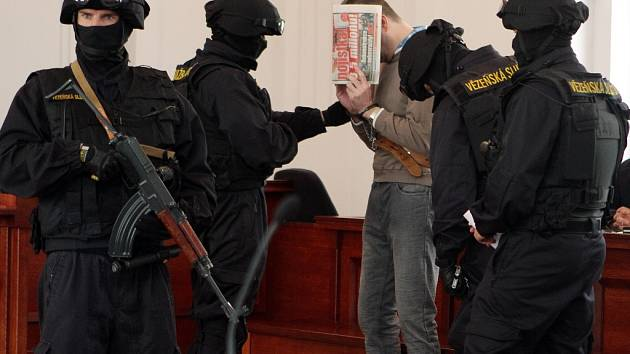 Miloš Babyka u Krajského soudu v Plzni