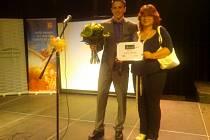 Kick-boxer Jáchym Wiesner dostal ocenění Křesadlo za pomoc nemohoucímu 16letému chlapci.