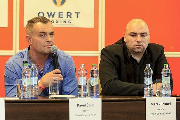 Pavel Šour (vlevo).