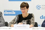 Ředitelka odboru zaměstnanosti Úřadu práce v Plzni Magdalena Čadová