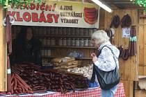 Májové trhy na náměstí Republiky v Plzni