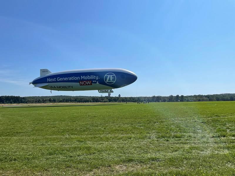 Největší vzducholoď na světě zavítá i nad Plzeň a Klášterec nad Ohří