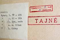Přehled Škodováků, kteří protestovali proti měnové reformě, byl přísně tajný. Dnes už neměl existovat.