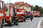 Únik plynu z venkovní nádrže v neděli na několik hodin uzavřel hlavní silnici z Plzně do Domažlic. Na místě plynařům asistovali dobrovolní i profesionální hasiči. Preventivně byly evakuovány desítky obyvatel. Událost se obešla bez zranění a škod.