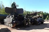 Den pozemního vojska Bahna ve vojenském újezdu Brdy