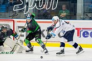 Z hokejového zápasu Škoda Plzeň - Mladá Boleslav.