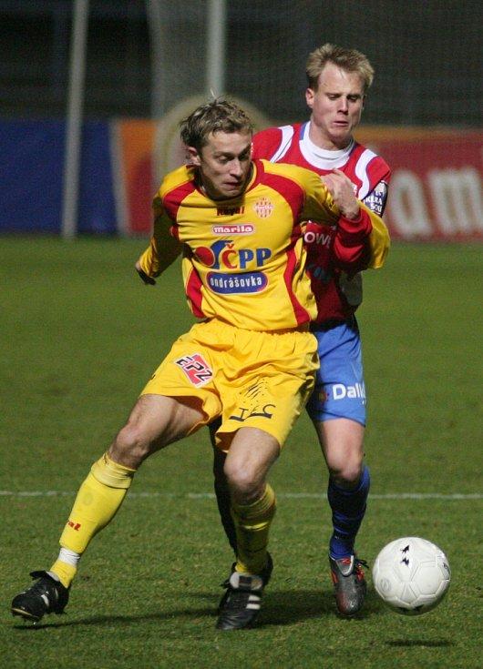 David Limberský v roce 2006 proti Příbrami.
