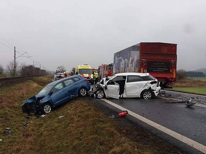 Tragická dopravní nehoda u Borov na jižním Plzeňsku