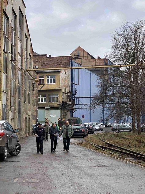 Propouštění zaměstnanců firmy Pilsen Steel.