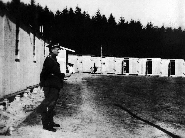 Archivní snímky z tábora Lety nedaleko Písku.