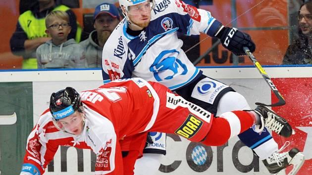 Snímek z utkání HC Škoda Plzeň proti Olomouci