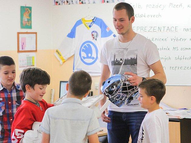Marek Mazanec na Benešově základní škole v Plzni