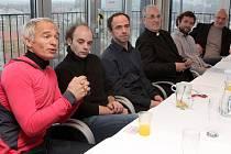 Tisková konference k zahájení projektu Evropské hlavní město kultury