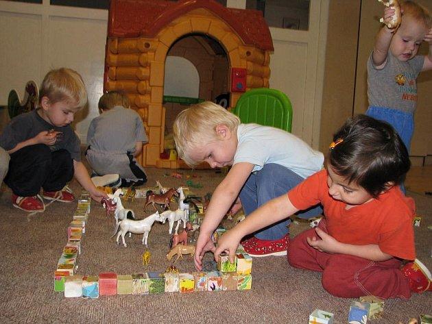 Děti z dětského domova v Trnové