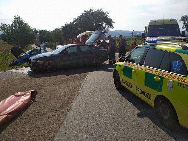 Dopravní nehoda u Šťáhlav