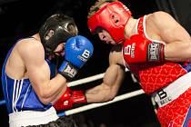 Extraligový duel mezi boxery Chiméra Fighters Plzeň a SKP Sever Ústí nad Labem proběhl v neděli odpoledne v kongresovém sále plzeňského Parkhotelu.