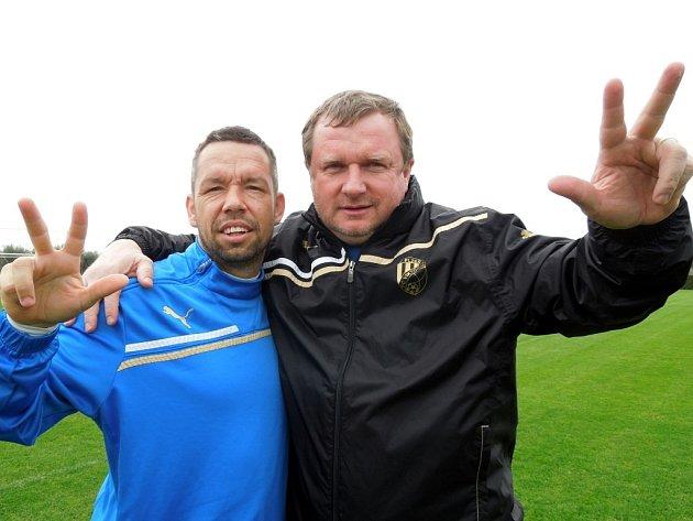 Pavel Horváth s Pavlem Vrbou